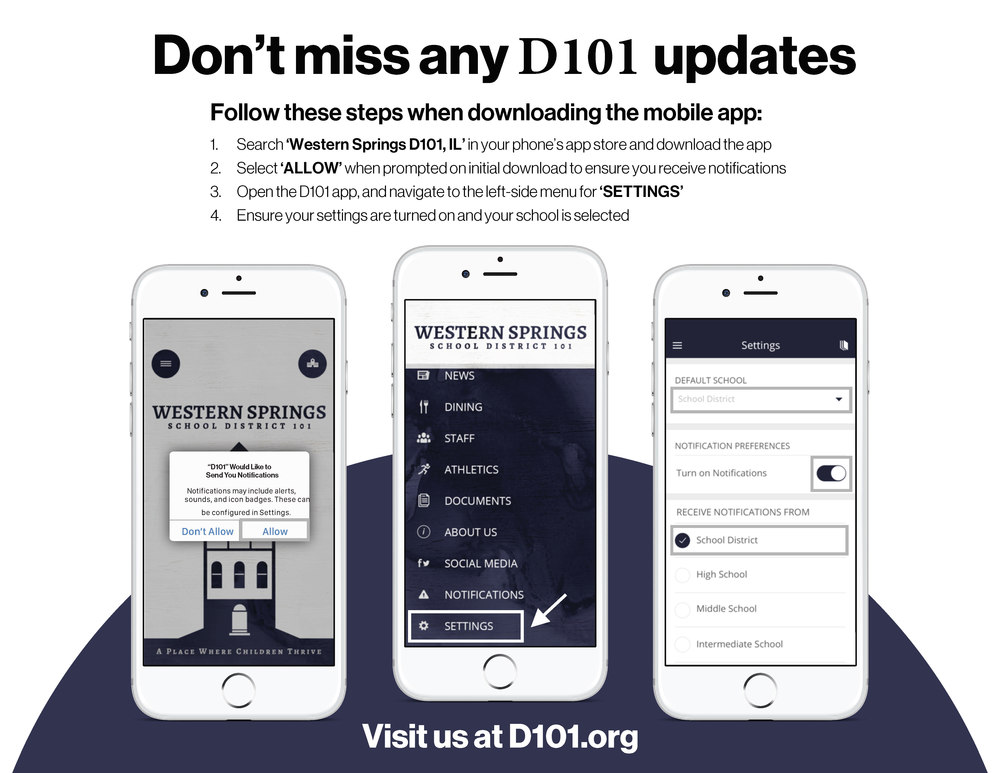 Download the D101 App!